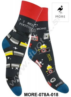 Dámske ponožky More-078A-018