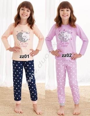 Dievčenské pyžamo Elza1164