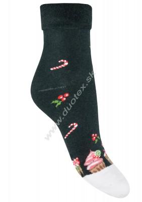 Vianočné froté ponožky Steven-030-25