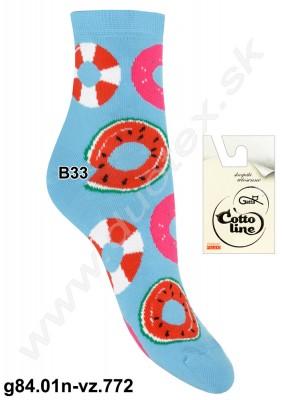 Dámske ponožky g84.01n-vz.772