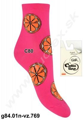 Dámske ponožky g84.01n-vz.769