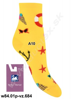 Dámske ponožky w84.01p-vz.684