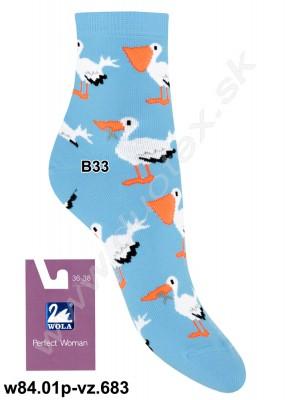 Dámske ponožky w84.01p-vz.683