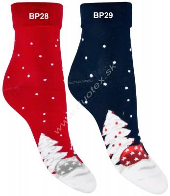 Vianočné froté ponožky Steven-030-28
