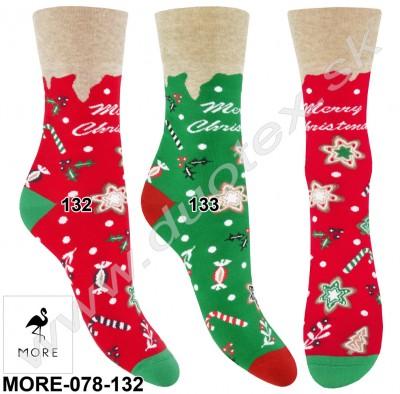 Vianočné ponožky More-078-132
