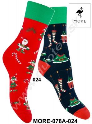 Dámske ponožky More-078A-024