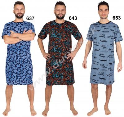 Pánska nočná košeľa P-1409