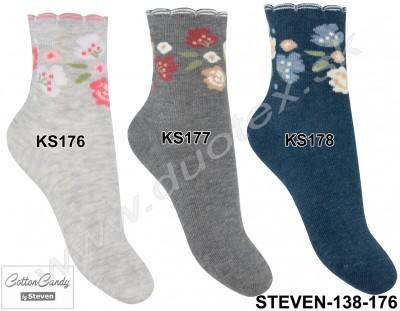 Detské ponožky Steven-138-176