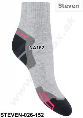 Dámske ponožky Steven-026-152