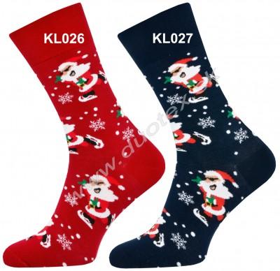 Vianočné ponožky Steven-136-4