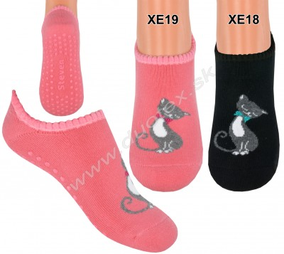 Froté ponožky s ABS Steven-134-17