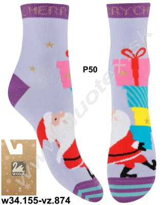Vianočné ponožky w34.155-vz.874