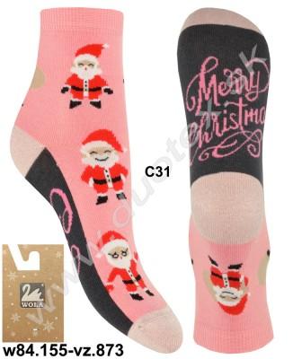 Vianočné ponožky w84.155-vz.873