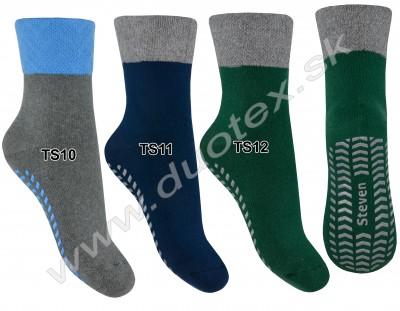 Ponožky s ABS Steven-038-10