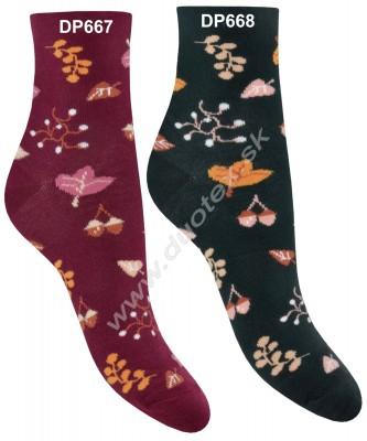 Vzorované ponožky Steven-099-666