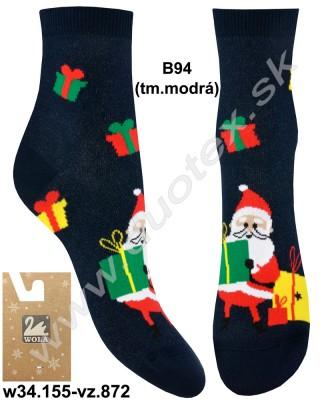 Detské ponožky w34.155-vz.872