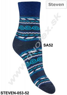 Froté ponožky Steven-053-52