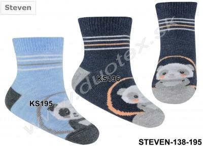 Detské ponožky Steven-138-195