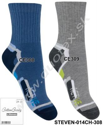 Detské ponožky Steven-014CH-308