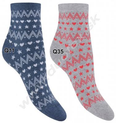 Vzorované ponožky w84.155-vz.951