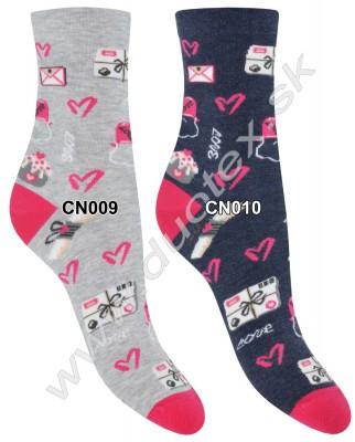 Bavlnené ponožky Steven-136D-009
