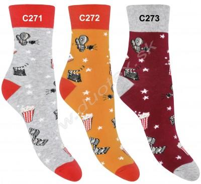 Dámske ponožky Steven-022-271