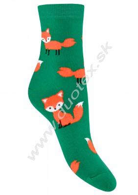 Vzorované ponožky g44.01n-vz.291