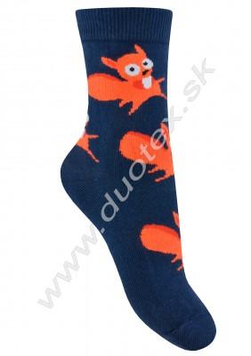 Vzorované ponožky w44.01p-vz.295