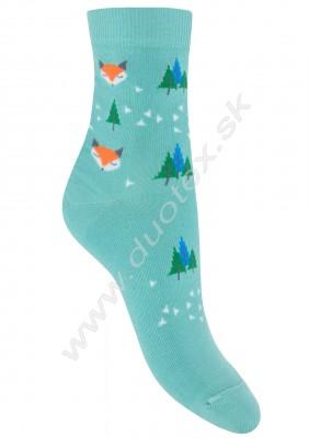 Vzorované ponožky w44.01p-vz.297