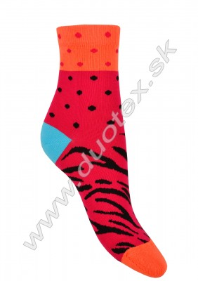 Vzorované ponožky w44.01p-vz.879