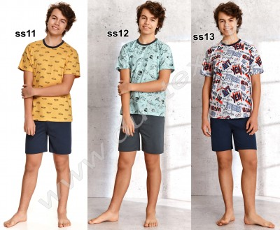 Chlapčenské pyžamo Max344-1