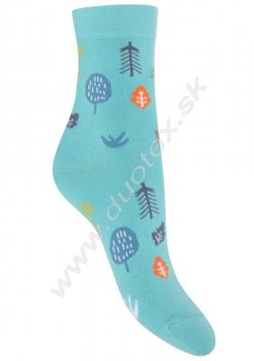 Vzorované ponožky g44.01n-vz.290