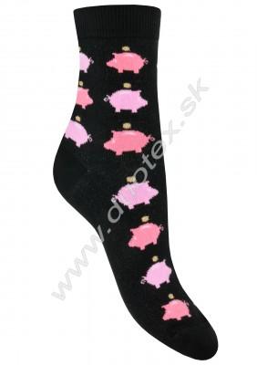 Vzorované ponožky g44.01n-vz.292